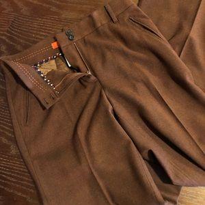 Cartonnier Pants- dark orange/brown